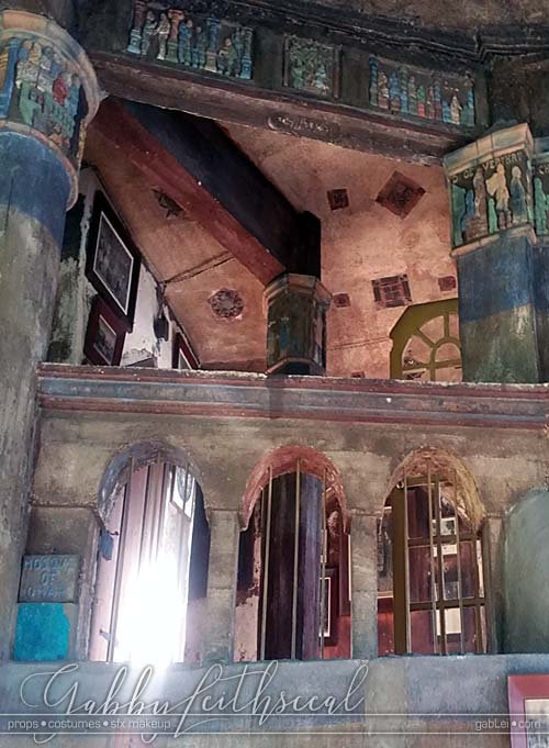 Blood-Fairies-set-fonthill-castle-halls-looking-up