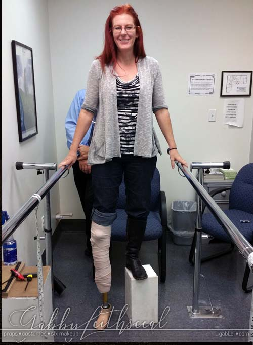 Costume-Accessories-Creature-Leg-Lifts-Testing