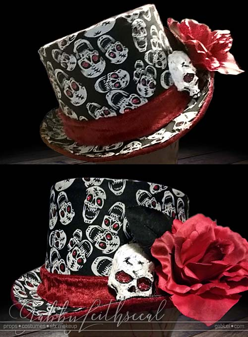 Costume-Accessory-Skull-Top-Hat