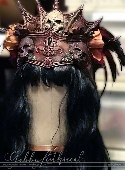 Day-of-the-Dead-Costume-Headpiece-Wig