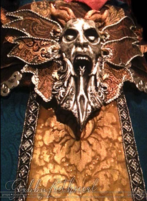 Dracula-Belmont-Costume-Fabric-Belt-Closeup