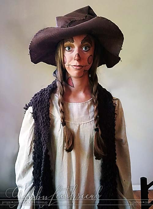 Film-Short-ScareCrow-Costume-Makeup