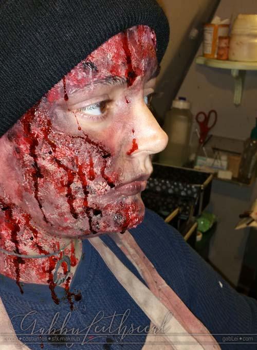 Haunt-Attraction-Bloody-Burn-Crew-Makeup