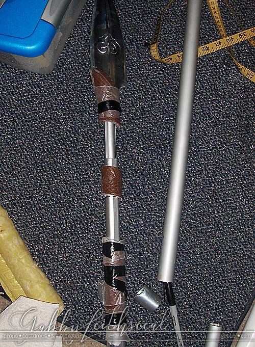 Hellboy-II-Cosplay-Props-Spear-Pole-Cast-Sections-Attached