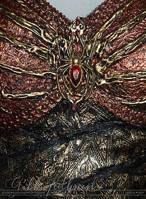 Lolth-Costume-Corset-Detail-Closeup
