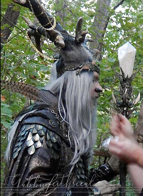Lord-Oberon-Costume-On-Set-Side-View