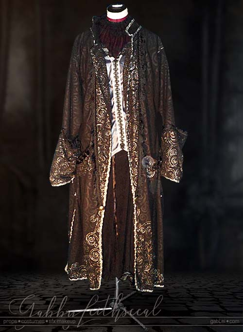 Masquerade-Costume-King-Front