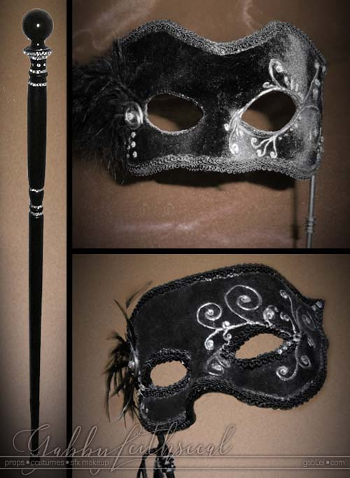 Masquerade-Costume-Masks-Walking-Stick