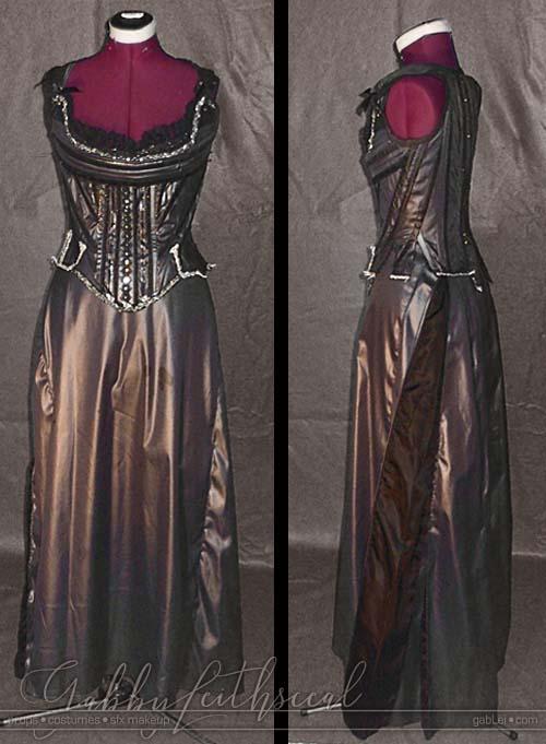 Masquerade-Costume-Queen-Corset-Underskirt