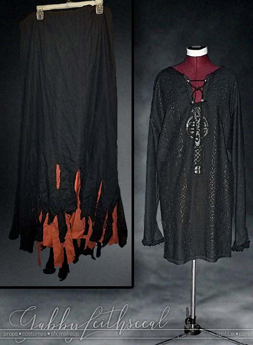 Monty-Python-Tim-Enchanter-Costume-Skirt-Shirt