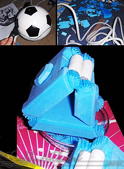 Mr-Wink-Costume-Mech-Hand-Progress