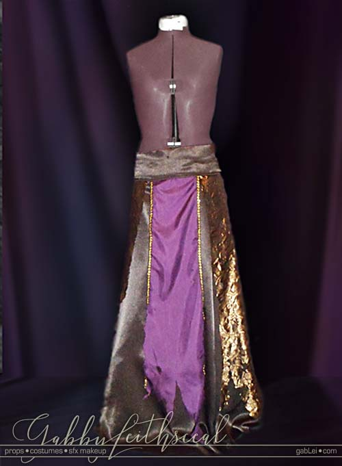 NY-Stage-Demon-Costume-Skirt-Detail
