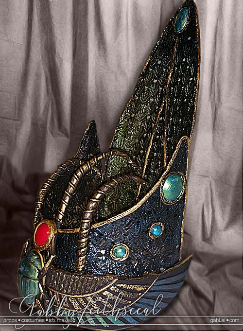 NY-Stage-Pharaoh-Costume-Crown-Side