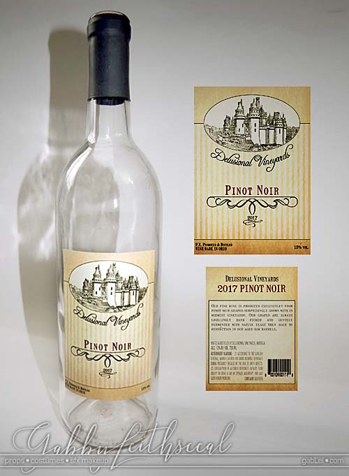 Strangers-2-Prop-Unopened-Wine-Bottle-with-Lable