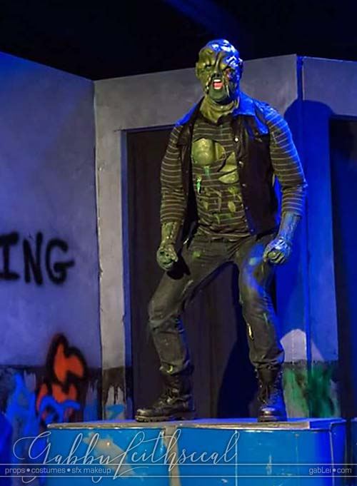 Toxic-Avenger-Costume-on-Stage