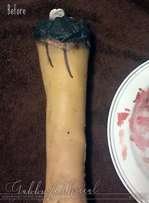 Toxic-Avenger-Severed-Arm-Before-Paint