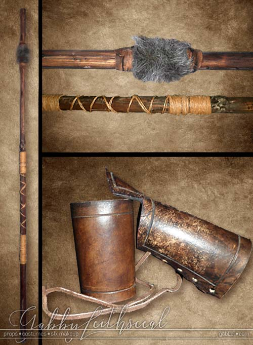 Warrior-Princess-Costumes-Gabrielle-Staff-Bracers