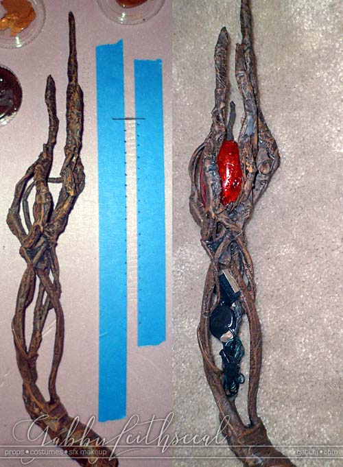 Witch-Hunter-Wand-Cosplay-Prop-Painting-Wiring