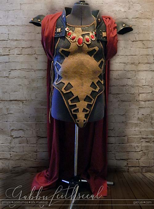 Zelda-Gandondorf-Costume-Armor-Over-Cloak