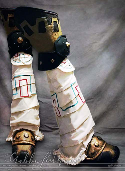 Zelda-Gandondorf-Costume-Shoes-Legs