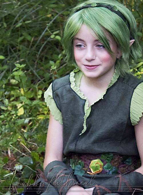 Zelda-Saria-Costume-On-Set