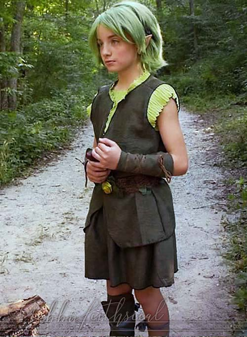 Zelda-Saria-Costume-Side