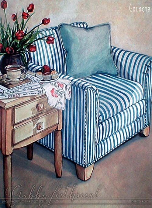 stilllife-hand-painted-gouache