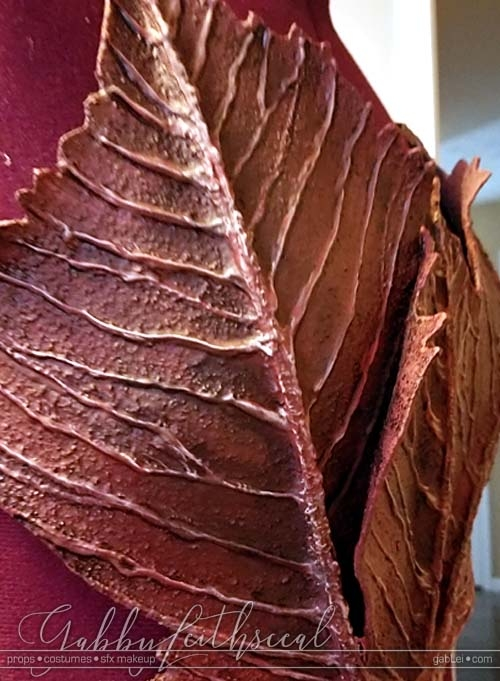 BloodFairies-Costume-Leaf-Armor-Closeup
