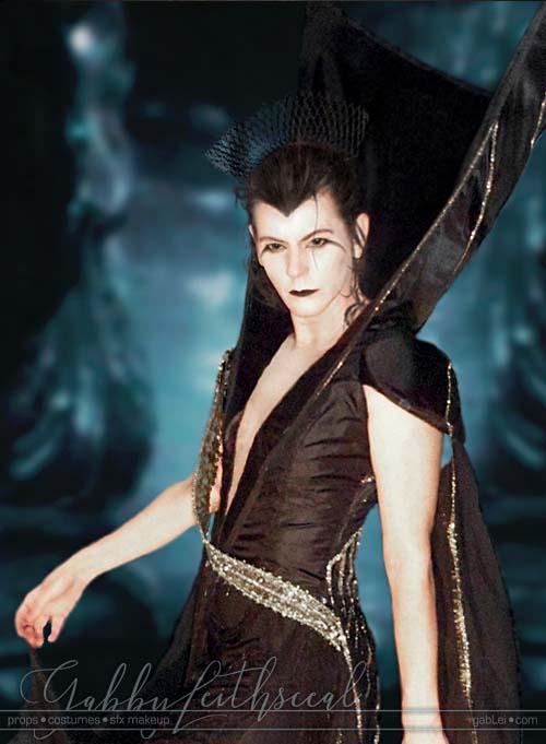 Legend Dark Lily Costume Makeup