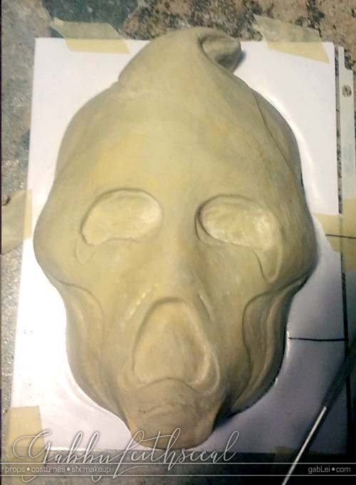 Haunt-Film-Ghost-Mask-Sculpt
