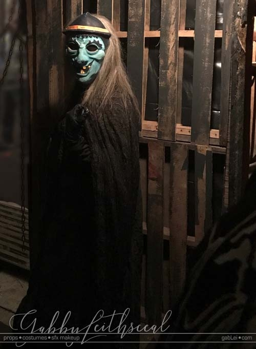 Haunt-Film-Witch-Mask-On-Set