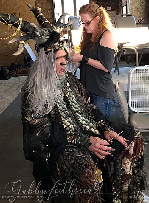 Lord-Oberon-Costume-Getting-in-Character