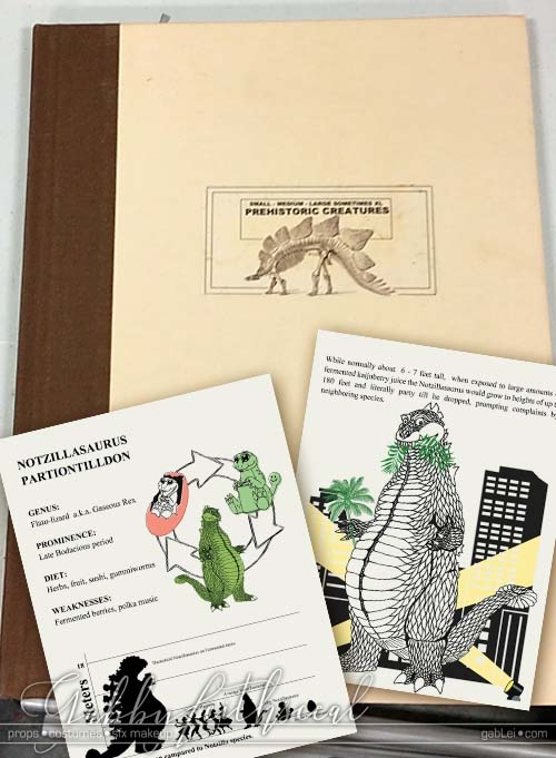 Notzilla-Prop-Dino-Book