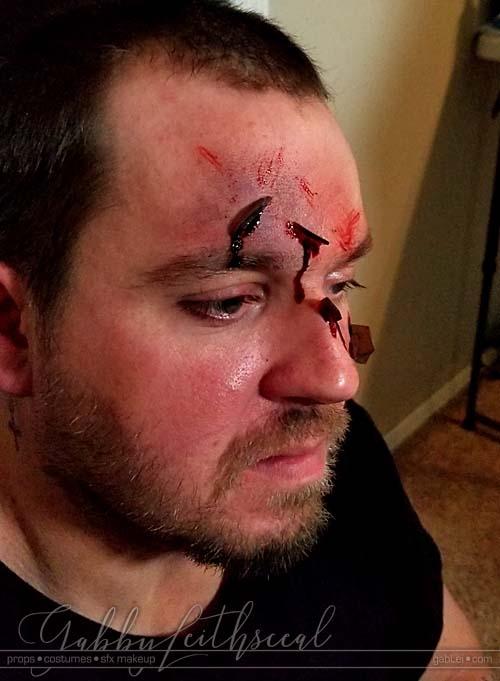Trash-Polka-Makeup-Bruise-Glass-Cuts-Side