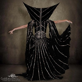 Dark-Lily-Costume-Back