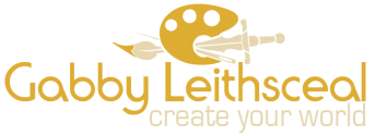 Gabby Leithsceal: Create your world. Props, costumes, sfx makeup and art.